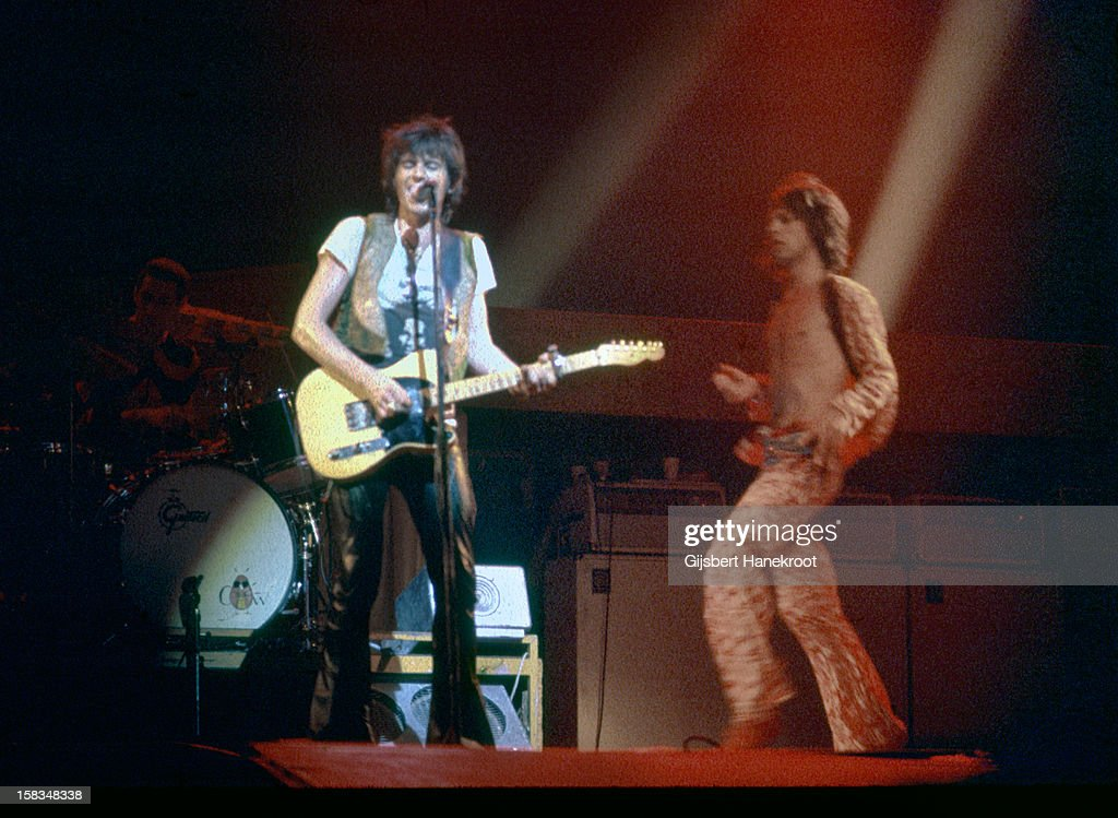 The Rolling Stones In Brussels : News Photo