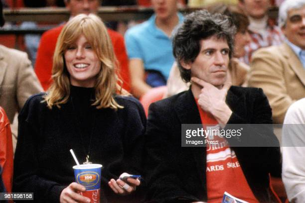 Keith Richards and Patti circa 1980 in New York