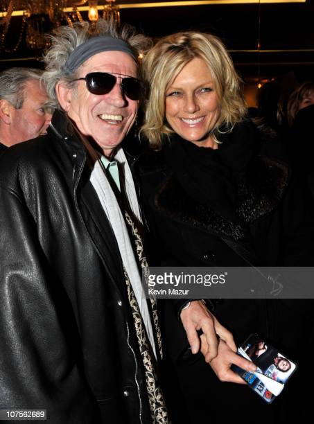 Keith Richards and Patti Hansen attend Paul McCartney's performance at the world famous Apollo Theater for the first time celebrating 20 million...