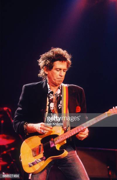 Keith Richards and The X-Pensive Winos 'European Tour 1992', Keith Richards, Ahoy, Rotterdam, Holland, .