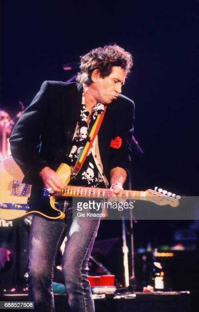Keith Richards and The XPensive Winos 'European Tour 1992' Keith Richards Ahoy Rotterdam Holland