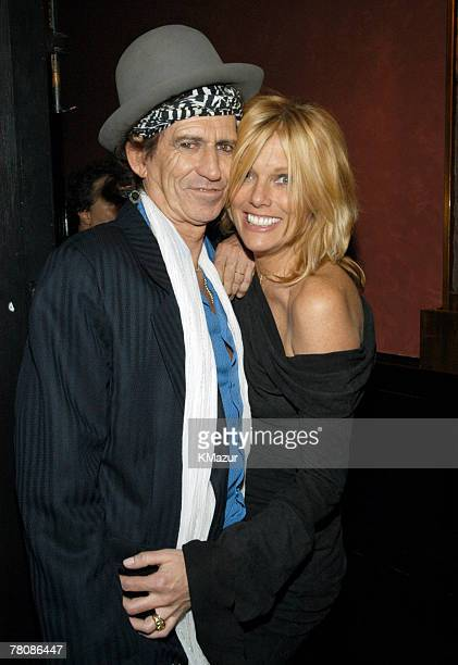 Keith Richards and wife Patti Hansen