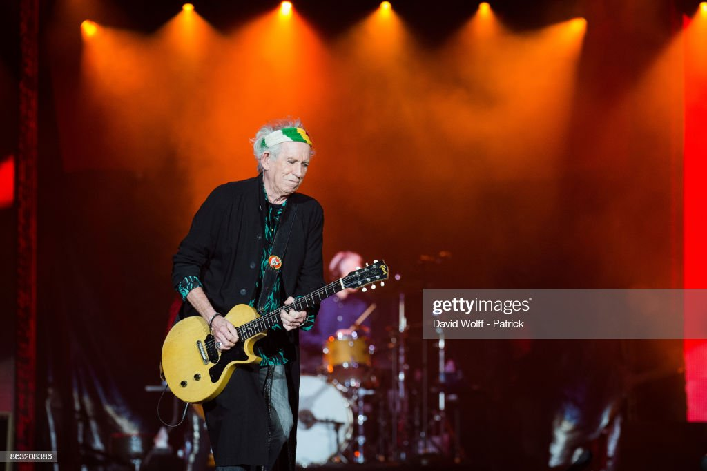 The Rolling Stones Perform At L'U Arena In Nanterre : News Photo