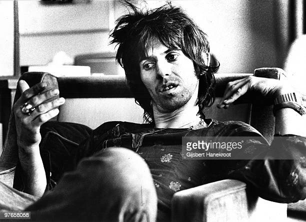 Keith Richards from The Rolling Stones posed in Brussels Belgium on May 06 1976