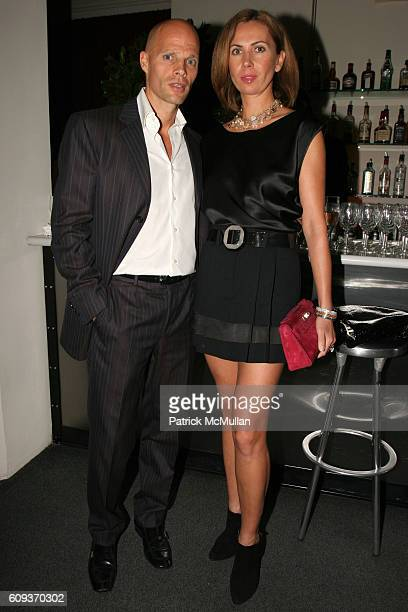 Keith Rubenstein and Inga Rubenstein attend Trump Soho Hotel Condominium Launch Party at Tribeca Rooftop on September 19 2007 in New York City