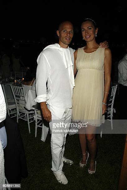Keith Rubenstein and Inga Rubenstein attend ULLA KEVIN PARKER Host White End Of Summer Party at on August 31 2007