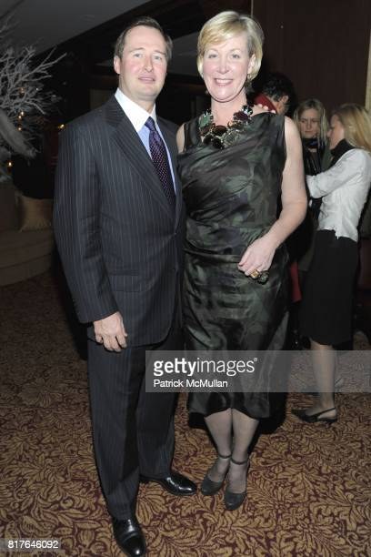 Keith Spickelmier and Sara DoddSpickelmier attend ANNE HEARST MCINERNEY JAY MCINERNEY and GEORGE FARIAS Holiday Party at 21 Club on December 16 2010...