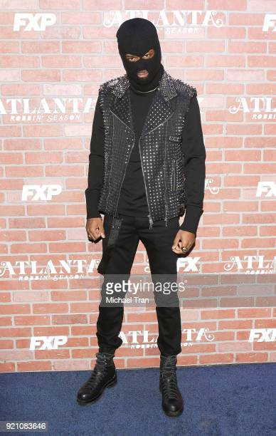 Keith Stanfield arrives at FX's Atlanta Robbin' Season Los Angeles premiere held at Ace Theater Downtown LA on February 19 2018 in Los Angeles...