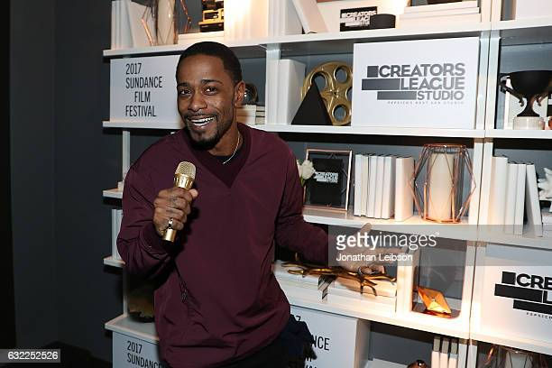 Keith Stanfield attends the Creators League Studio At 2017 Sundance Film Festival Day 1 2017 Sundance Film Festival premiere of The Incredible...