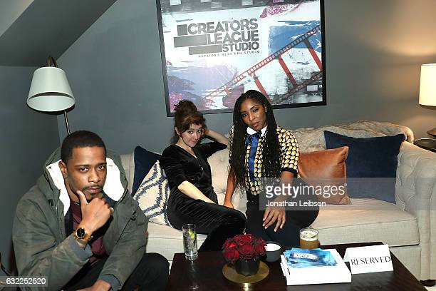 Keith Stanfield Noel Wells and Jessica Williams attend the Creators League Studio At 2017 Sundance Film Festival Day 1 2017 Sundance Film Festival...