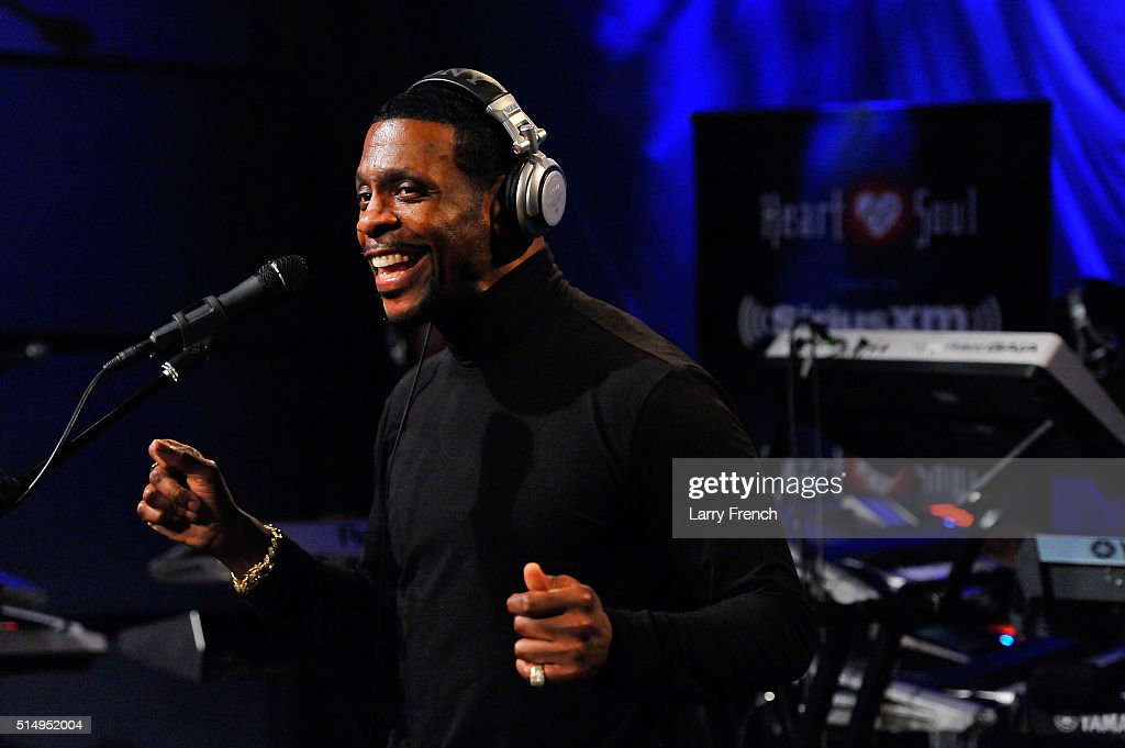Keith Sweat Performs At The SiriusXM Studios In Washington DC