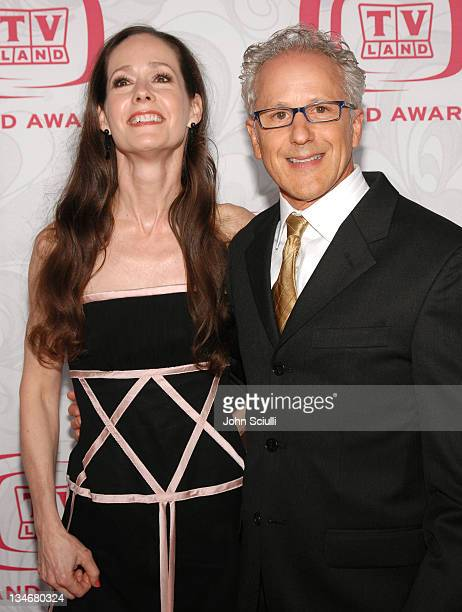 Keith Thibodeaux and guest during 5th Annual TV Land Awards Arrivals at Barker Hanger in Santa Monica CA United States