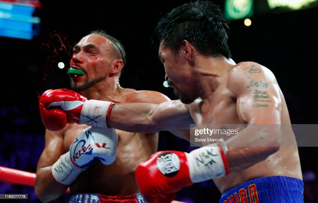 Manny Pacquiao v Keith Thurman : ニュース写真