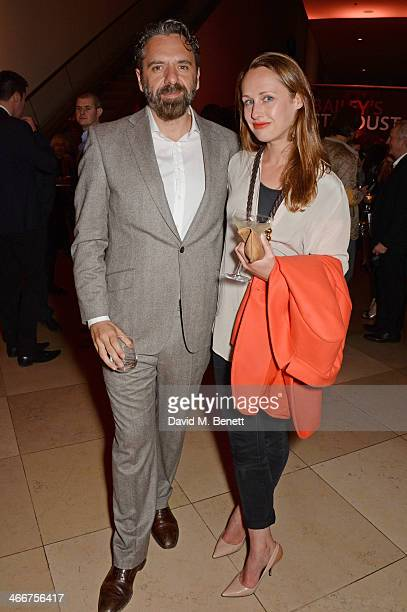 Keith Tyson and Viola Fort attend a private view of Bailey's Stardust, a exhibition of images by David Bailey supported by Hugo Boss, at the National...