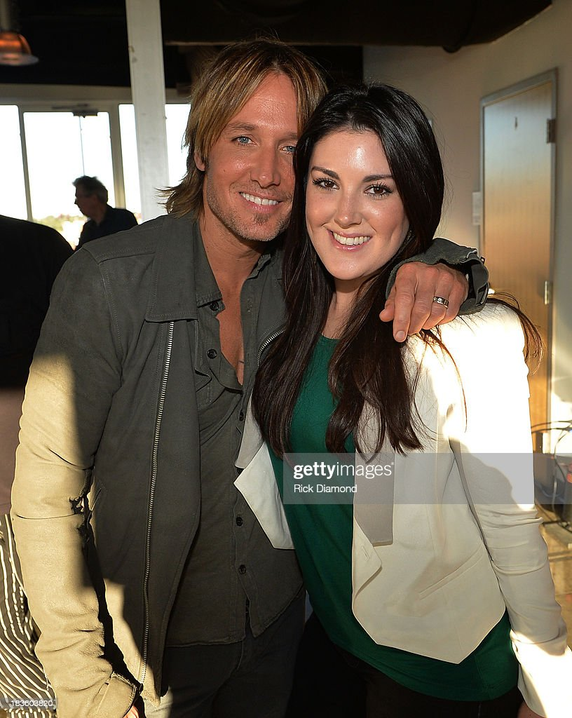 Keith Urban and American Idol season 12 contestant Kree Harrison attend as Keith Urban, BMI & ASCAP Celebrate the No. 1 Song 'Little Bit Of Everything' at Aerial In Nashville on October 7, 2013 in Nashville, United States.