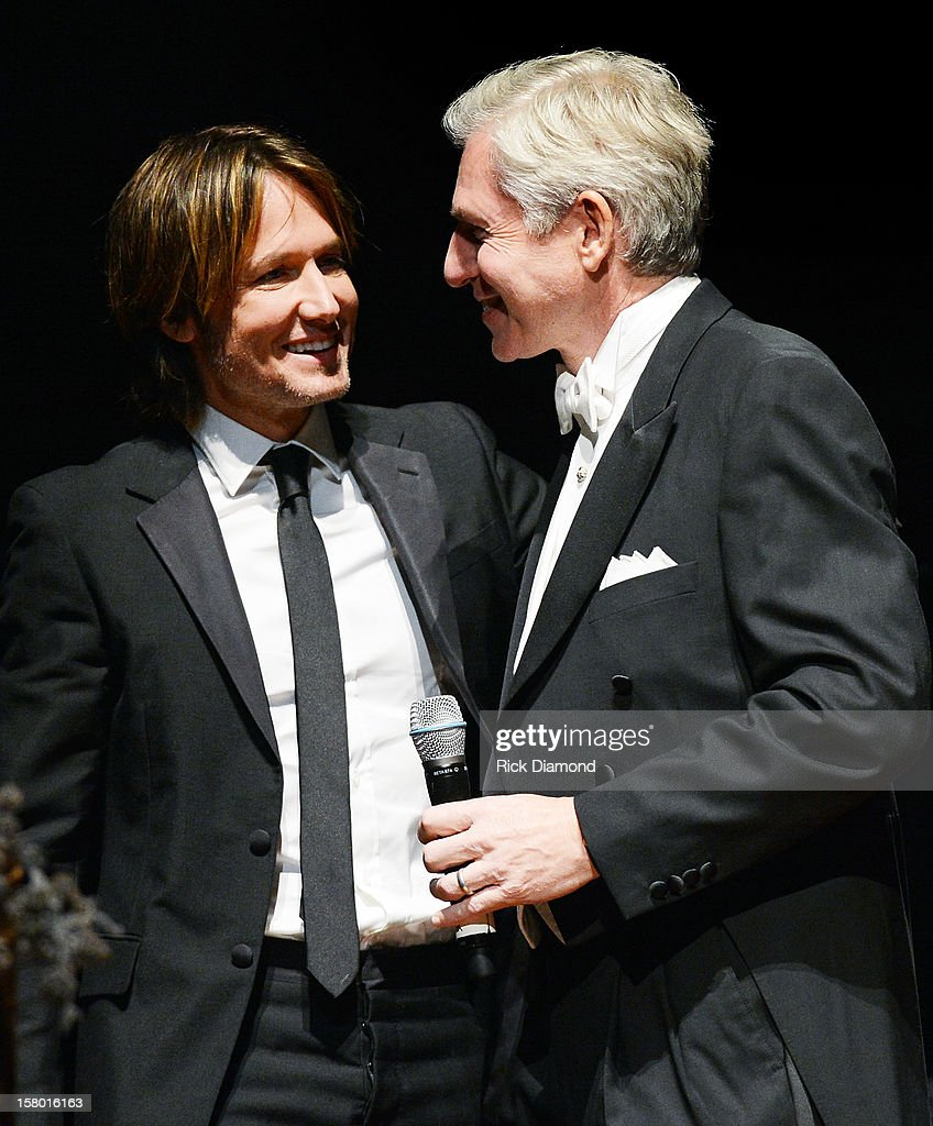 Keith Urban and Ansel Davis attend Symphony Ball at Schermerhorn Symphony Center, where Keith Urban accepted the Harmony Award on December 8, 2012 in Nashville, Tennessee.