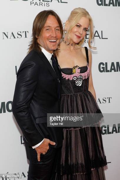 Keith Urban and Nicole Kidman attend the 2017 Glamour Women of the Year Awards at Kings Theatre on November 13 2017 in New York City