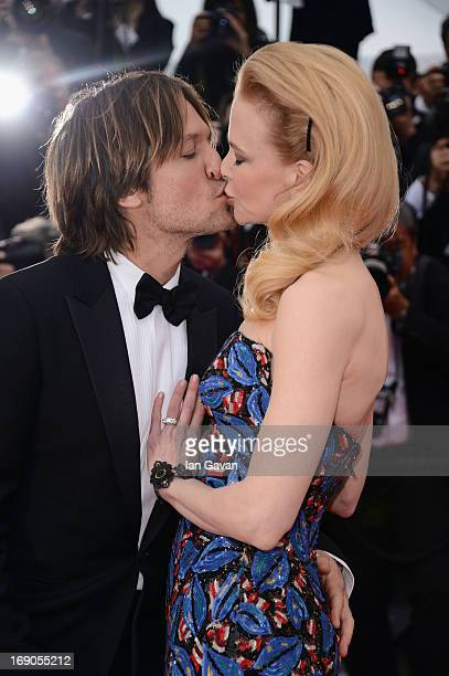 Keith Urban and Nicole Kidman attend the Inside Llewyn Davis Premiere during the 66th Annual Cannes Film Festival at Grand Theatre Lumiere on May 19...