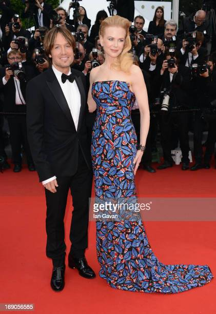 Keith Urban and Nicole Kidman attend the 'Inside Llewyn Davis' Premiere during the 66th Annual Cannes Film Festival at Grand Theatre Lumiere on May...