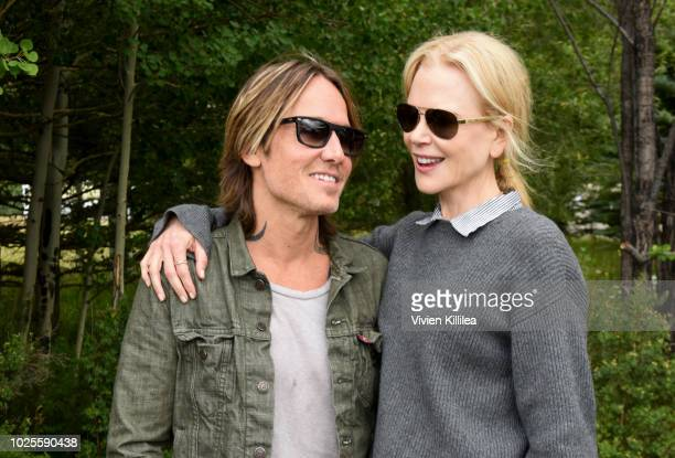 Keith Urban and Nicole Kidman attend the Telluride Film Festival 2018 on August 31 2018 in Telluride Colorado