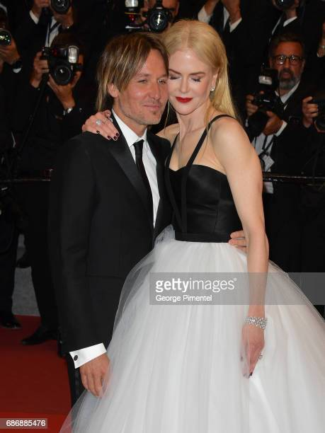 Keith Urban and Nicole Kidman depart from the 'The Killing Of A Sacred Deer' screening during the 70th annual Cannes Film Festival at Palais des...