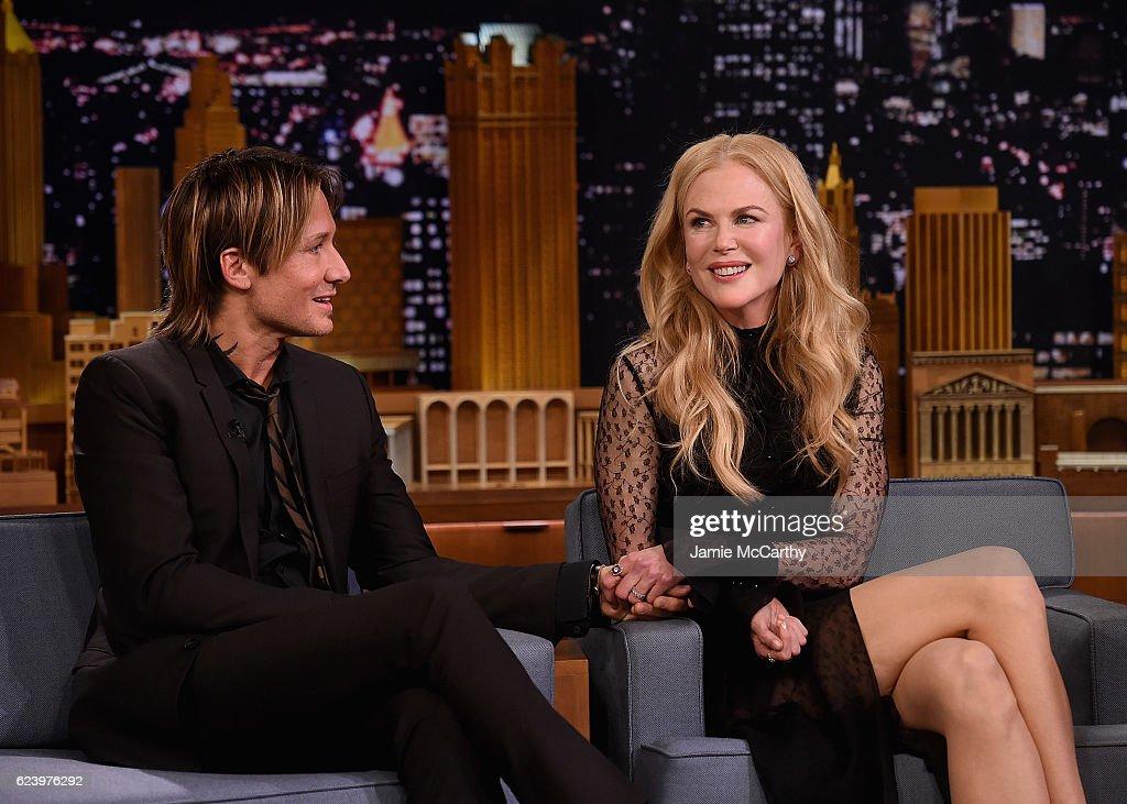 "Nicole Kidman Visits ""The Tonight Show Starring Jimmy Fallon"" : News Photo"
