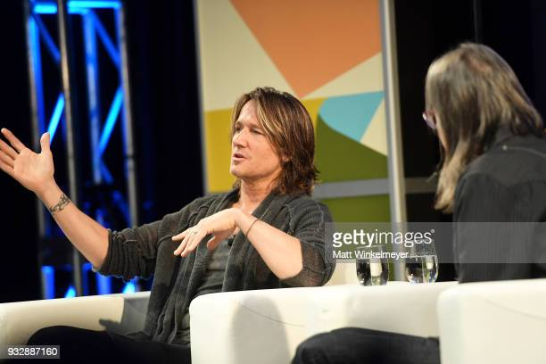 Keith Urban attends A Conversation with Keith Urban 2018 SXSW Conference and Festivals at Austin Convention Center on March 16 2018 in Austin Texas
