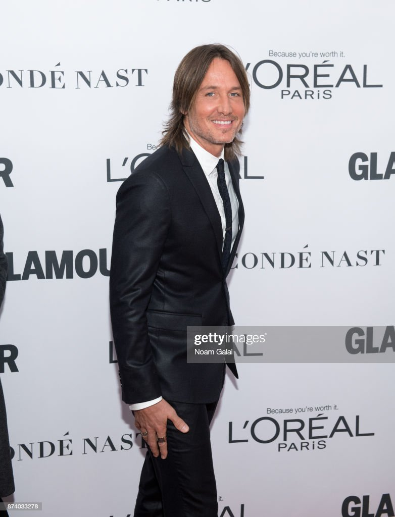 Keith Urban attends the 2017 Glamour Women of The Year Awards at Kings Theatre on November 13, 2017 in New York City.