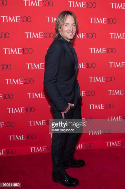 Keith Urban attends the 2018 Time 100 Gala at Frederick P Rose Hall Jazz at Lincoln Center on April 24 2018 in New York City