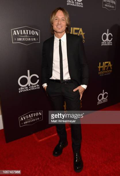 Keith Urban attends the 22nd Annual Hollywood Film Awards at The Beverly Hilton Hotel on November 4 2018 in Beverly Hills California