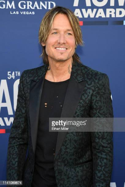 Keith Urban attends the 54th Academy Of Country Music Awards at MGM Grand Garden Arena on April 07 2019 in Las Vegas Nevada