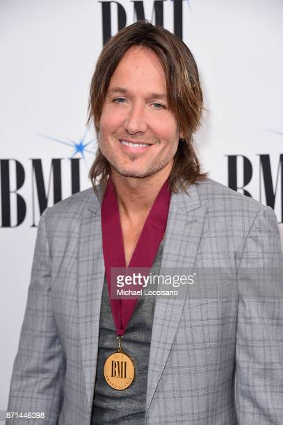 Keith Urban attends the 65th Annual BMI Country awards on November 7 2017 in Nashville Tennessee