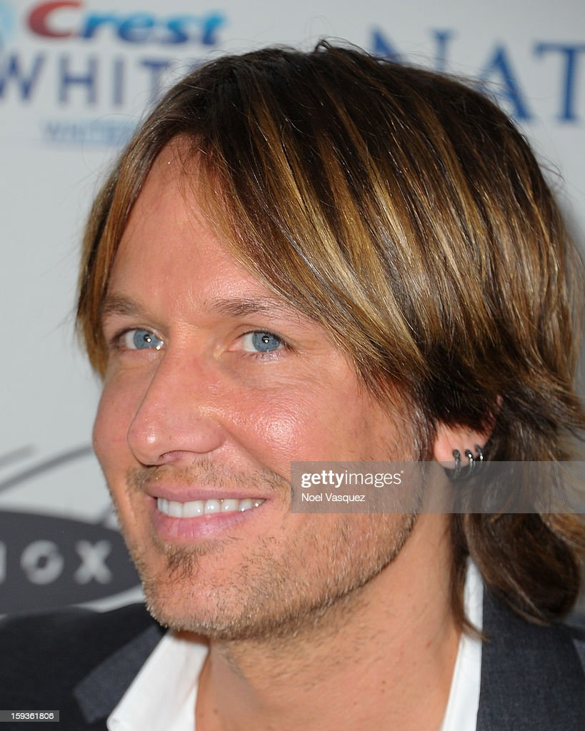 Keith Urban attends the 'Gold Meets Golden' event hosted at Equinox on January 12, 2013 in Los Angeles, California.