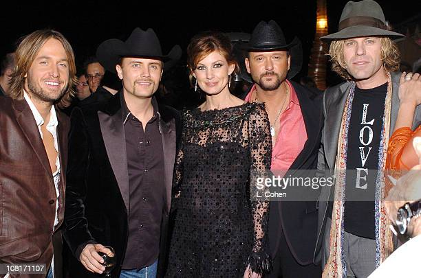 Keith Urban Big and Rich Faith Hill and Tim McGraw