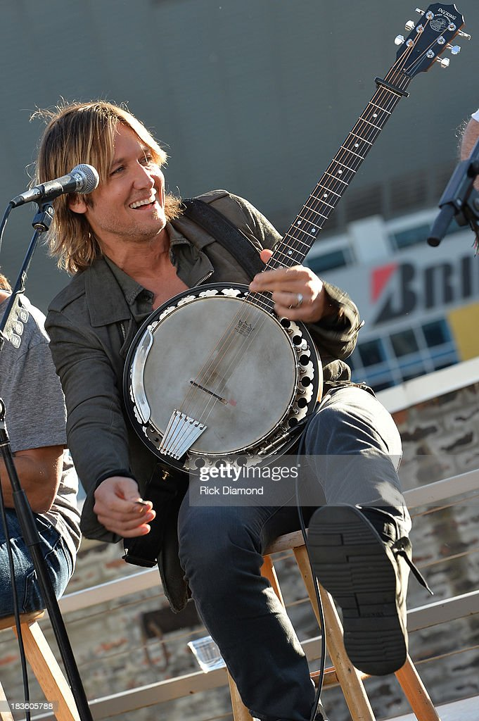Keith Urban, BMI & ASCAP Celebrates Keith's No. 1 Song 'Little Bit Of Everything' at Aerial In Nashville on October 7, 2013 in Nashville, United States.