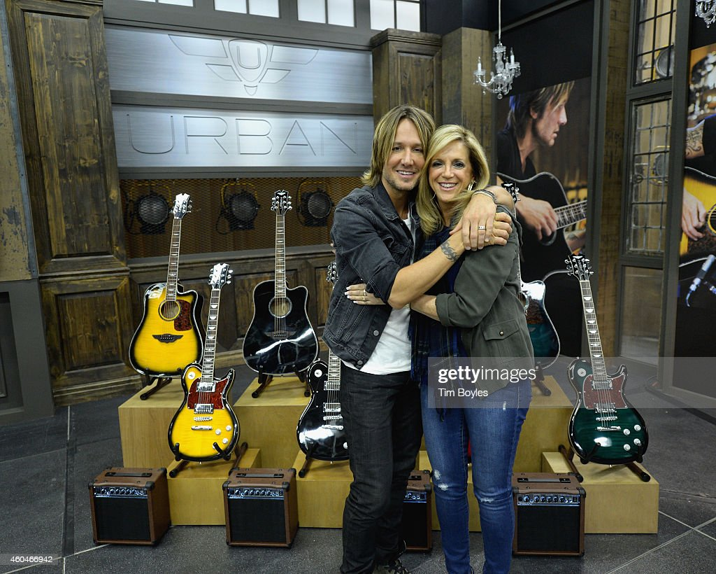 Star Studded Weekend At HSN With Keith Urban and Shaquille O'Neal : News Photo
