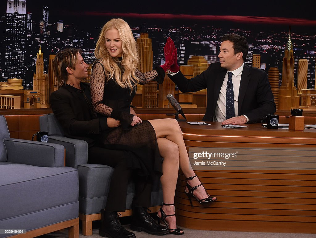 "Nicole Kidman Visits ""The Tonight Show Starring Jimmy Fallon"" : News Photo"
