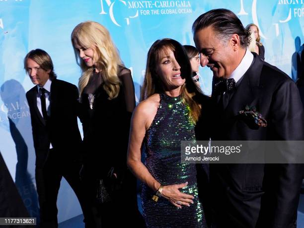 Keith Urban, Nicole Kidman, Jane Seymour and Andy Garcia attend the Gala for the Global Ocean hosted by H.S.H. Prince Albert II of Monaco at Opera of...