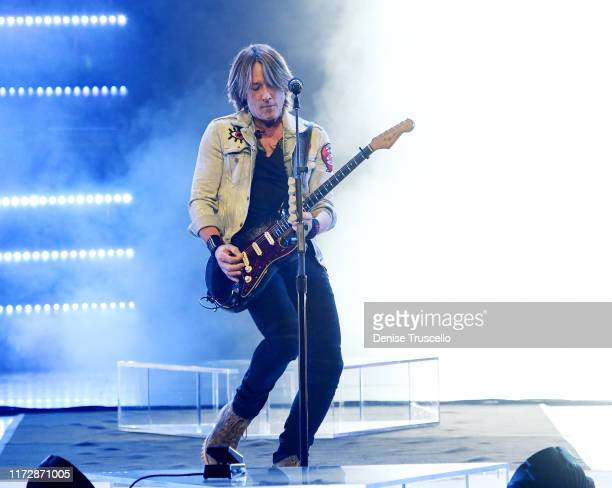 Keith Urban performs at The Colosseum at Caesars Palace on September 06 2019 in Las Vegas Nevada