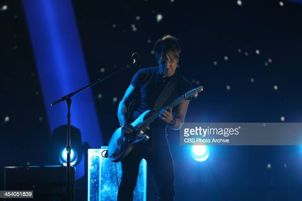 Keith Urban performs during the THE GRAMMY NOMINATIONS CONCERT LIVE Ñ COUNTDOWN TO MUSIC'S BIGGEST NIGHT¨ broadcast Friday Dec 6 on the CBS...