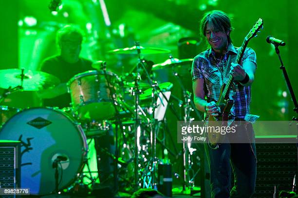 Keith Urban performs in concert at the 2009 Indiana State Fair on August 15 2009 in Indianapolis Indiana