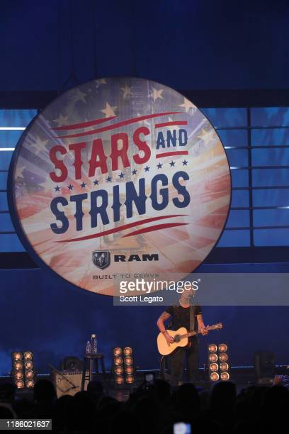 """Keith Urban performs on stage during """"Stars and Strings Presented by RAM Trucks Built to Serve"""" a RADIOCOM Event at the Fox Theatre on November 06..."""
