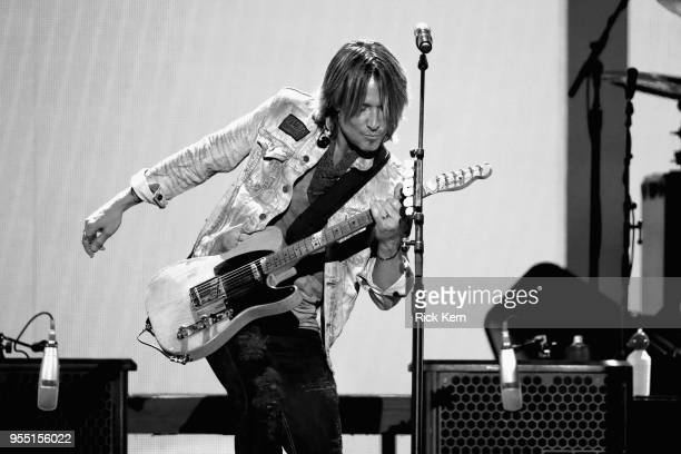Keith Urban performs onstage during the 2018 iHeartCountry Festival By ATT at The Frank Erwin Center on May 5 2018 in Austin Texas