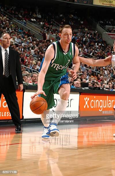 Keith Van Horn of the Dallas Mavericks drives against the Philadelphia 76ers on April 1 2005 at the Wachovia Center in Philadelphia Pennsylvania NOTE...