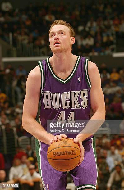 Keith Van Horn of the Milwaukee Bucks shoots a free throw during the game  against the b80b274d3