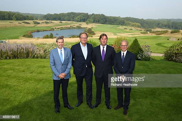 Keith Waters Chief Operating Officer of the European Tour Per Ericsson President of Volvo Event Management Austen Gravestock CEO The London Cub and...