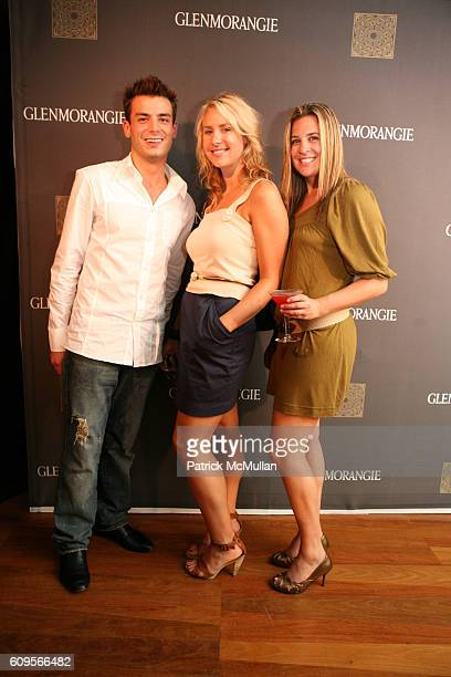 Keith Yanez Elle Molchin and Jennifer Lava attend GLENMORANGIE COCKTAIL RECEPTION celebrate RELAUNCH and NEW RANGE OF WHISKIES at Rubin Museum of Art...