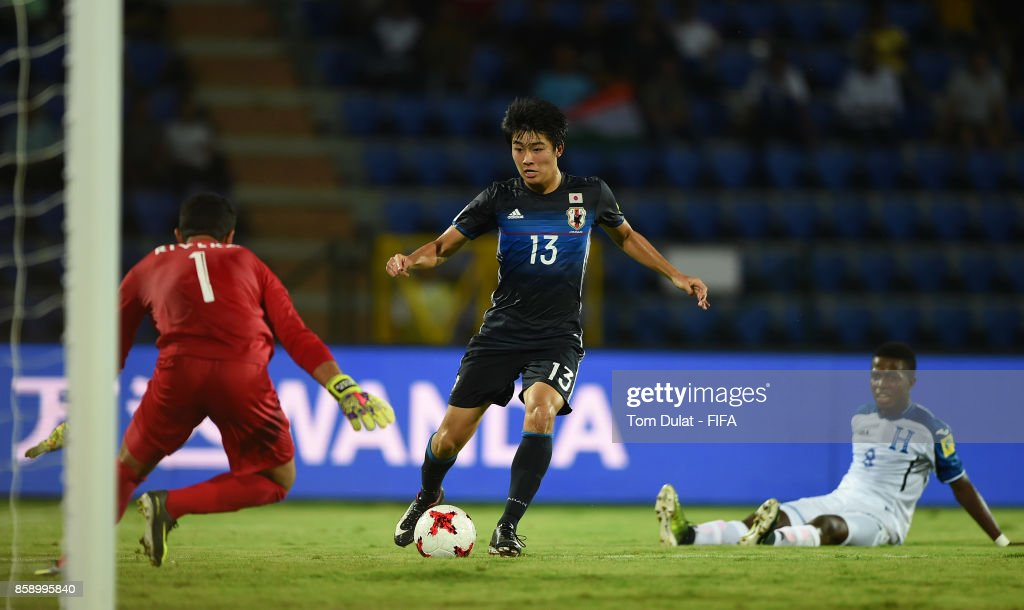 Honduras v Japan - FIFA U-17 World Cup India 2017 : News Photo