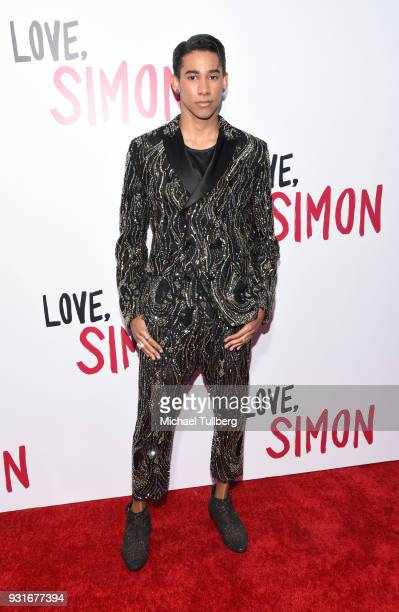 "Keiynan Lonsdale attends a special screening of 20th Century Fox's ""Love, Simon"" at Westfield Century City on March 13, 2018 in Los Angeles,..."