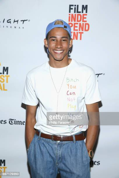 Keiynan Lonsdale attends Diversity Speaks during the 2017 Los Angeles Film Festival at Kirk Douglas Theatre on June 17 2017 in Culver City California